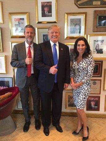 falwell wife trump